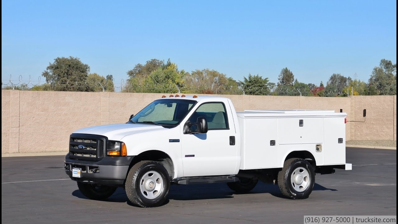 2006 ford f350 4x4 utility truck for sale