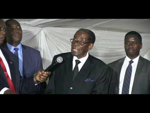 I now support ED says Mugabe