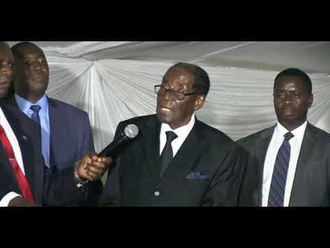 I now support ED says Mugabe