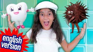 Brush the Little Teeth - Yasmin Verissimo - Educational Kids Song