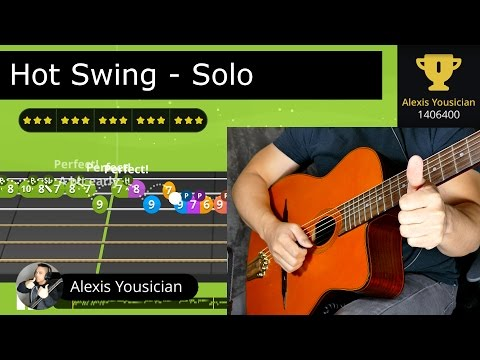 "Alexis Yousician - ""Hot Swing"" Gold Star"