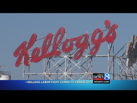 Kellogg labor fight comes to Battle Creek.