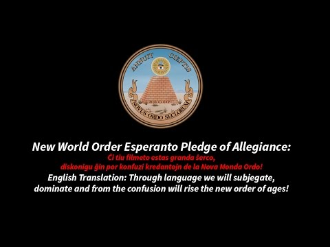 New World Order and Esperanto