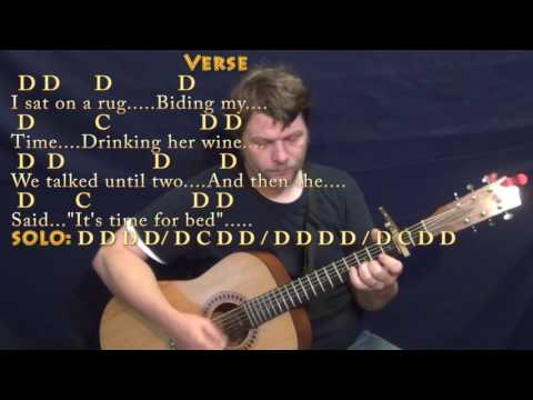 Norwegian Wood (The Beatles) Guitar Cover Lesson with Chords/Lyrics - Capo 2nd Fret