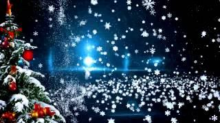 Красивая новогодняя видео заставка