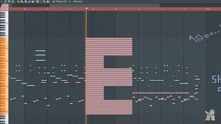 What E Sounds Like - MIDI Art