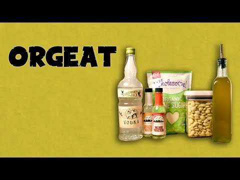 How to Make Orgeat - Homemade Almond Rich Simple Syrup