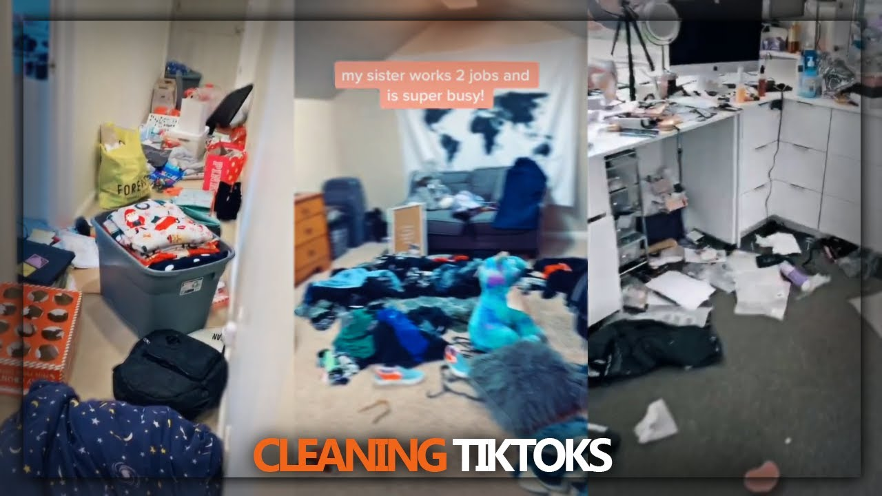 Download CLEANING AND ORGANIZING TIK TOKS✨🧼