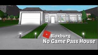 Roblox Bloxburg   Kein Spiel Pass Haus Geschwindigkeit Build   Sara Spielt jetzt
