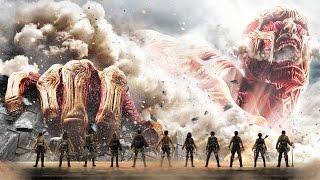 Атака Титанов. Фильм Первый в России