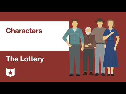 The Lottery By Shirley Jackson | Characters