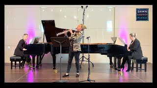 Hard Fairy by Graham Fitkin - Two Pianos and Soprano Saxophone - Dawn Hardwick and Sarah Field