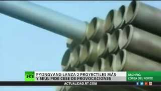 Corea del Norte lanza un nuevo misil de corto alcance
