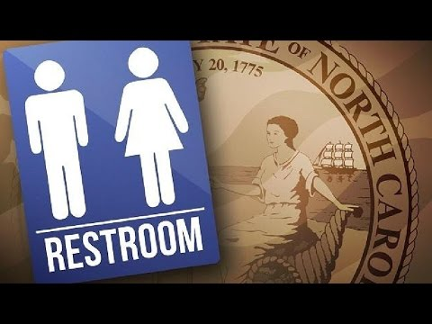 North Carolina Suing Government Over Bathrooms