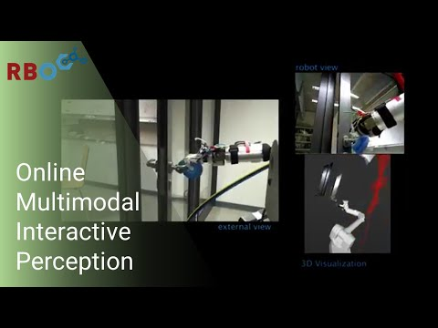 Cross-Modal Interpretation of Multi-Modal Sensor Streams in Interactive Perception