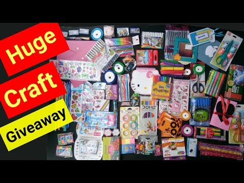 Huge Giveaway / Free Gifts for Craft and Stationery Lovers