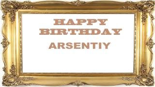 Arsentiy   Birthday Postcards & Postales