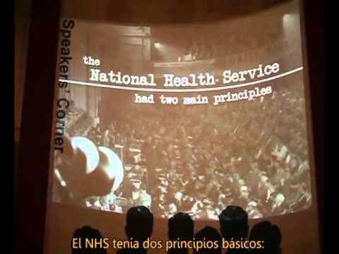 Aneurin Bevan speaks about the NHS (subtitulado en español)