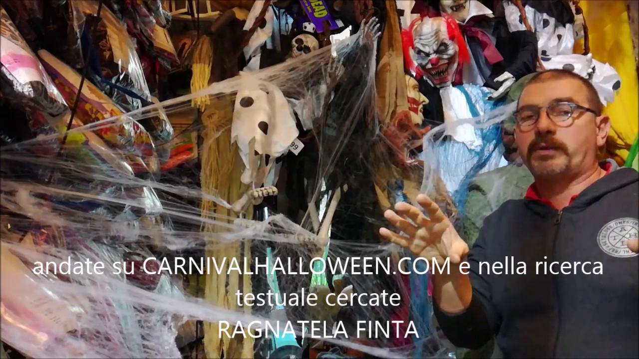 Tutorial Decorazioni Halloween  come mettere la ragnatela halloween finta e  quanta ne serve 325407023135