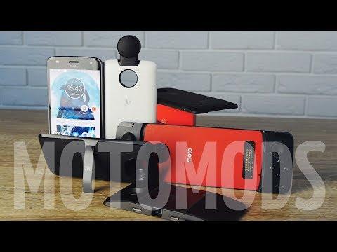 Обзор модульного Moto Z2 Play. Тестим MotoMods!