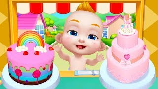 Fun Kitchen Games - Real Cake Maker 3D - Bake, Design & Decorate Gameplay