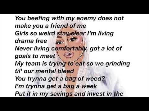 Saweetie - Icy Grl (Official Lyrics Video)