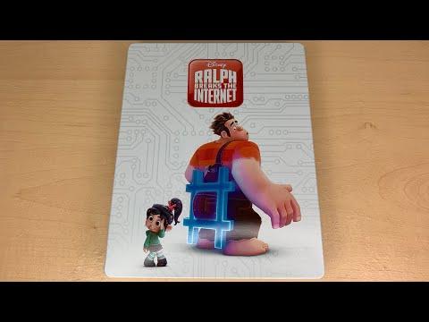 Ralph Breaks The Internet - Best Buy Exclusive 4K Ultra HD Blu-ray SteelBook Unboxing