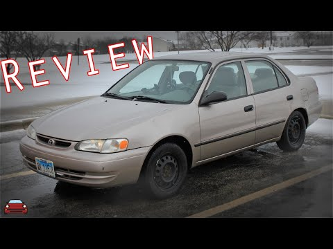1999 Toyota Corolla CE Review
