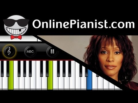 Whitney Houston - I Will Always Love You [The Bodyguard Theme Song] - Piano Tutorial
