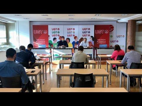 """Rueda de prensa para presentar el informe de UGT: """"Las personas LGTBI en la negociación colectiva"""""""
