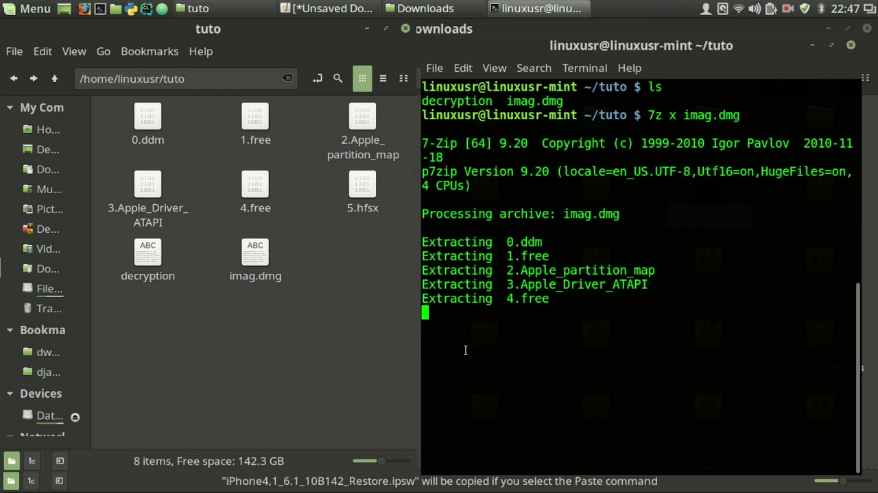 How to open DMG file in Linux [Ubuntu , Linux Mint , Kali Linux]
