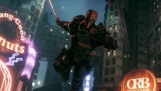 Batman Arkham Knight: Deathstroke Boss Fight (4K 60fps)