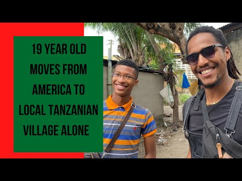 19 Year Old Moves From America to Local Tanzanian Village Meet @Mark Meets Africa |Africa| |Day 15|