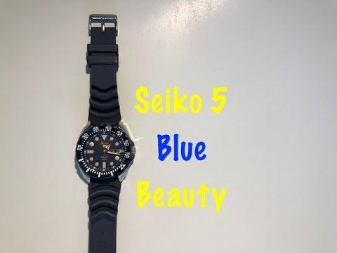 Seiko 5 Blue Diver SRP605K2