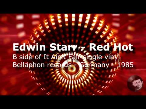 Edwin Starr - Red Hot    1985 Bellaphon Records