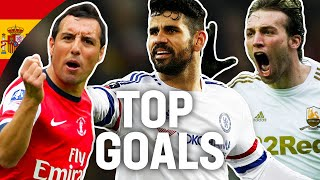 Breathtaking Goals by Spanish Players | Diego Costa, Michu, Cazorla, Silva, Mata | Emirates FA Cup