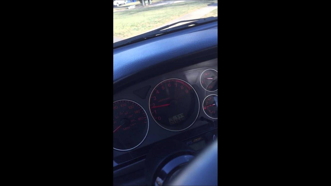Timing belt noise when warm