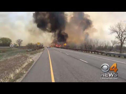 Wildfire Shuts Down I-70