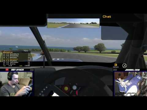iRacing - V8SC - Phillip Island - Fuel saving at it's best