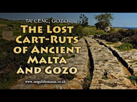 The Lost Cart-Ruts of Ancient Malta and Gozo - Ta' Cenc, Gozo