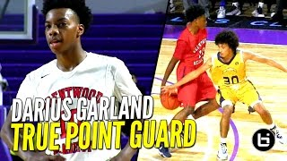 Darius Garland Shows True Point Guard Skills at City of Palms! #1 PG in 2018!