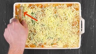 Запекаем колбаски с сыром в духовке. Теперь готовим ужин только так!