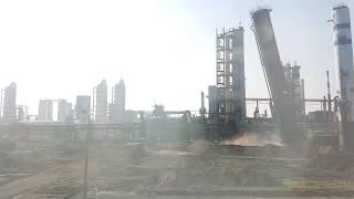 Wyburzanie komina Koksownia Częstochowa