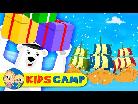 I Saw Three Ships | Christmas Carol | Christmas Song for Children By KidsCamp