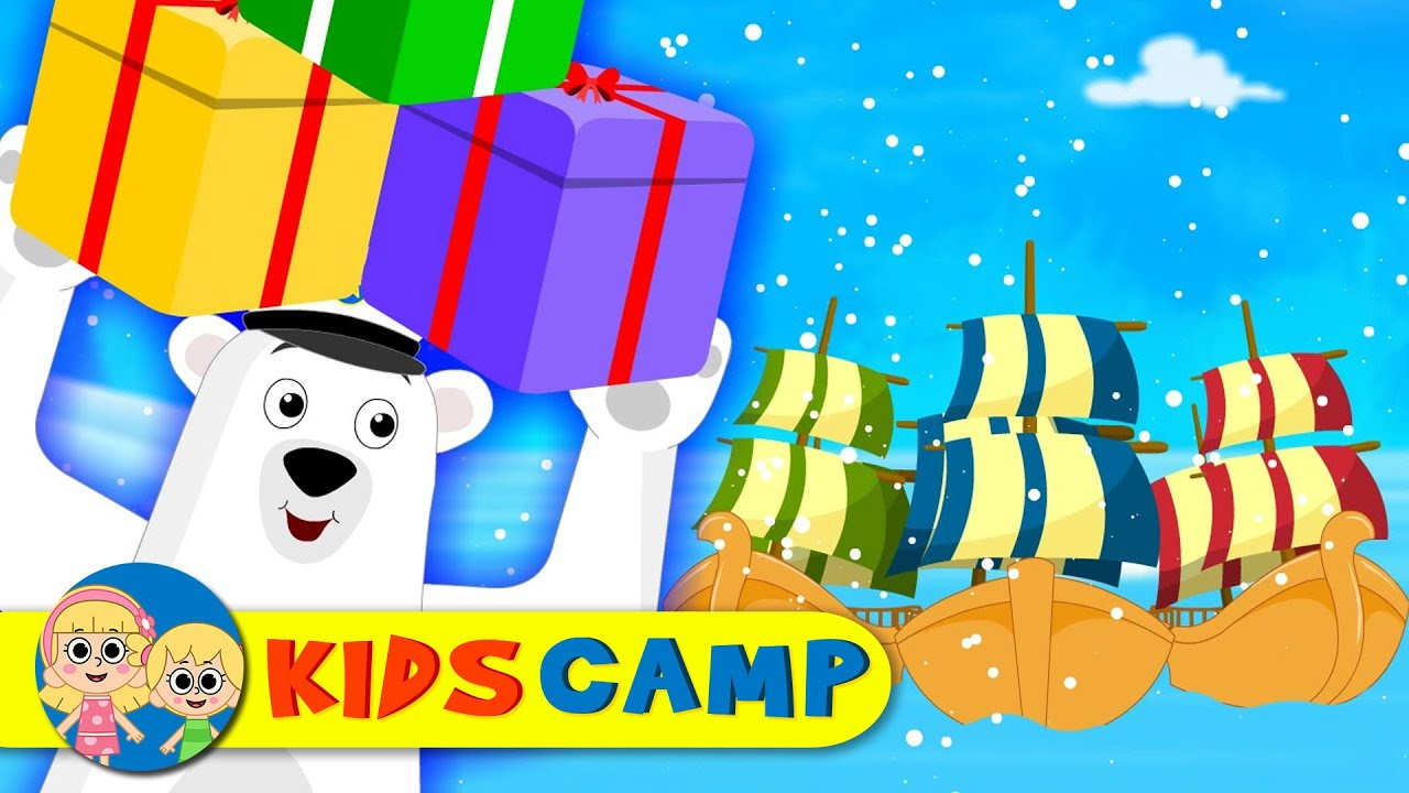 I Saw Three Ships   Nursery Rhymes And Kids Songs by KidsCamp - YouTube