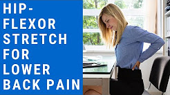Corrective Exercise for Lower Back Pain - Hip Flexor Stretch