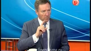 Олег Королев гость передачи «Открытая студия»