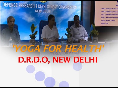 Yoga for Health: Acharya Balkrishna   D.R.D.O, New Delhi   1 July 2016 (Part 1)