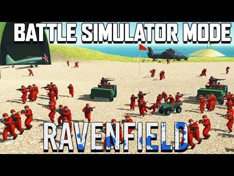 Ravenfield BATTLE SIMULATOR Mode!  (Ravenfield Beta 6 Gameplay Part 14)