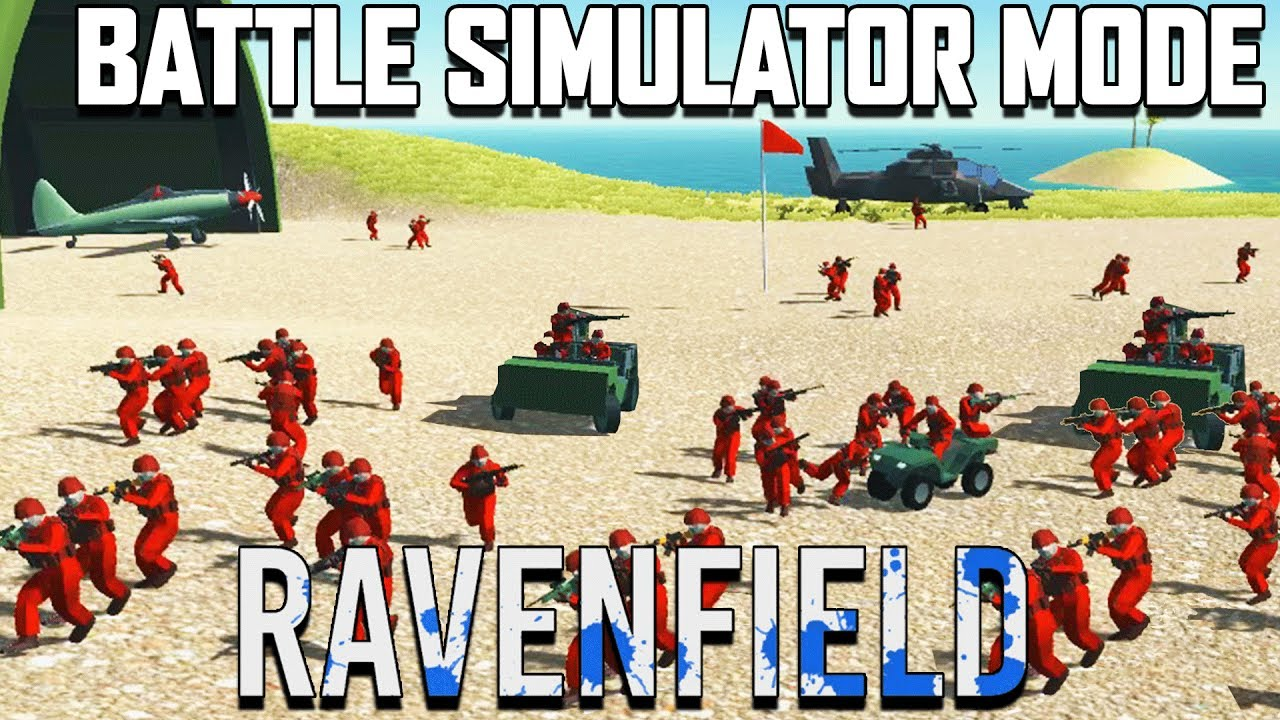 Ravenfield BATTLE SIMULATOR Mode! (Ravenfield Beta 6 Gameplay Part 14)